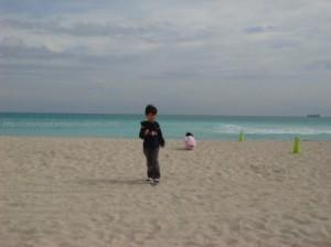 Numa praia por aí...