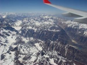 Sobre a Cordilheira dos Andes