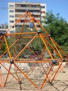 Descobrindo um playground em Santiago do Chile