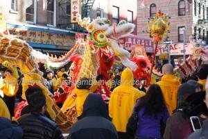 Ano Novo Chinês em China Town