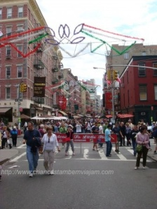 China town e Little Italy lado a lado